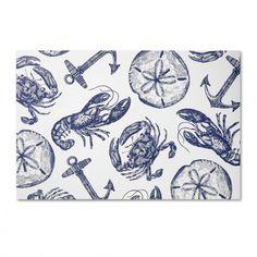 Decorative Paper Placemats - Nautical Paper Placemats | C. Wonder