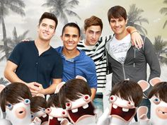 Rusher Imposter Wait...did BTR get some new members? Nope, it's just the Rabbids with a James Maslow haircut...phew!