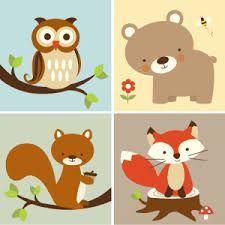 Resultado de imagen para woodland animals printables