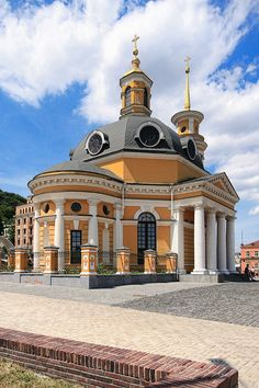 Church of the Nativity, Poshtova Square, Kiev, Ukraine by Matt. Create. (Roads Less Traveled)