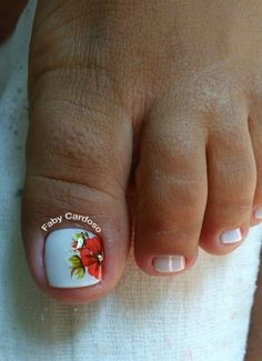 56 Modelos de Unhas de Pés e Mãos combinadas! Perfeito Toe Nail Art, Toe Nails, Manicure, Nail Designs, Hair Beauty, Beautiful, Nail Art Kids, Toenails Painted, Bride Nails