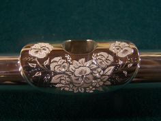 Flute engraving...beautifully done.