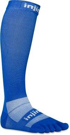 Injinji compression toe socks...