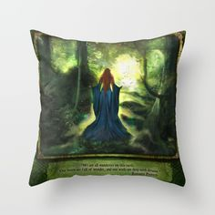 Heartwood Throw Pillow by Aimee Stewart - Cover x with pillow insert - Indoor Pillow Couch Pillows, Down Pillows, Designer Throw Pillows, Pillow Design, Pillow Inserts, All The Colors, Decor Styles, Hand Sewing, Color Pop