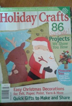 Better Homes & Gardens Holiday Crafts  Magazine Winter 2010 Issue