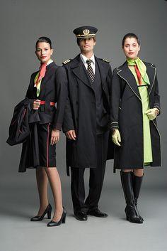 1000 Images About Uniformes Flight Attendant Uniforms On