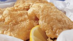 Gluten-Free Batter Fried Fish