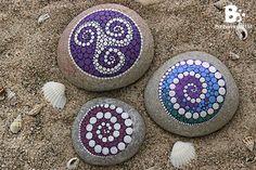 Mandala Stone 09