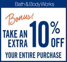 Bath & Body Works Coupon: Save an Extra 10%! - Canadian Savers