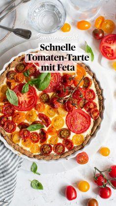 Feta, Brunch, Vegetarian Recipes, Healthy Recipes, Pepperoni, Summer Recipes, Vegetable Pizza, Quiche, Healthy Snacks
