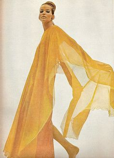Veruschka - US Vogue February 15, 1966