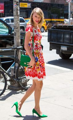"""Taylor Swift """"Out And About"""" arriving at the gym in NYC June 20, 2014."""