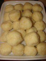 BRAMBOROVÉ KNEDLÍKY-kulaté Snack Recipes, Cooking Recipes, Snacks, Czech Recipes, Keto Bread, Side Dishes, Food And Drink, Menu, Potatoes
