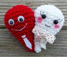 How To Crochet Double Heart