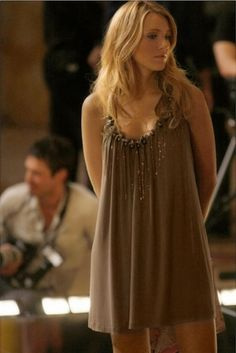 Serena van der Woodsen looks perfect in just about everything and I'm sooo jealous