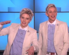 The best of 'SNL' Kate McKinnon joins the real Ellen DeGeneres on a full-on Ellen action. Watch the hilarious video!