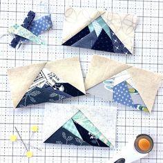 2019 Fresh & Scrappy Block of the Month Club — Leila Gardunia Paper Piecing Patterns, Quilt Block Patterns, Quilt Blocks, Karen O'neil, Quilting Projects, Quilting Designs, Sewing Projects, Small Quilt Projects, Nancy Zieman