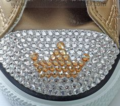 How To Create A Swarovski Crystal Tiara Converse Tutorial | Crystal and Glass Beads