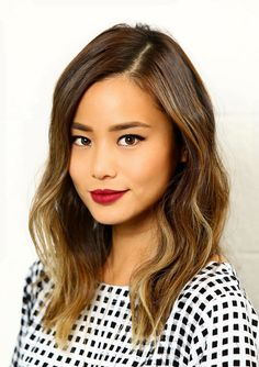Watch Jamie Chung's Hair Transform With Soft Highlights: Because we all can't hire celebrity colorists for house calls, Color Me!