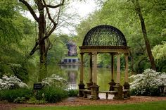 Gatsby style: Pictures of the famous mansions of the Gilded Age and Jazz Age, including Newport, Rhode Island, and the Gold Coast on Long Island, New York Long Island Ny, Image Pinterest, Old Westbury Gardens, Newport Rhode Island, Garden Gazebo, Old Mansions, Gilded Age, Hollywood, Garden Structures
