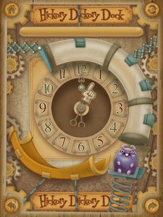 Fun puzzles and learning too. Hickory Dickory Dock on iTunes.