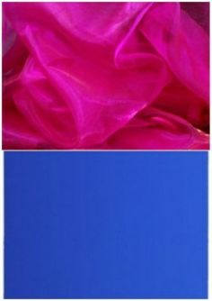 Show Me Your Wedding Colours Royalblue Shire Hotpink Fuschia Bling