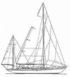 1954 Sparkman & Stephens Yawl Sail Boat For Sale - www.yachtworld.com