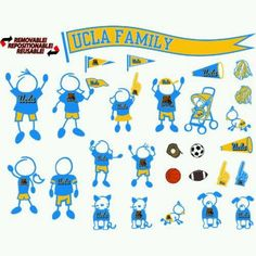 UCLA car decals. Can't find where to buy it. =(