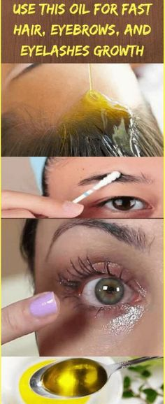 Use This Oil For Fast Hair, Eyebrows, and Eyelashes Growth – Airplus castor oil. Thanks to its high quantities of fatty acids, it is one of the very best oils for hair development and health Beauty Secrets, Beauty Hacks, Beauty Tips, Beauty Care, Hair Beauty, Beauty Skin, Best Hair Oil, Fast Hairstyles, Trendy Hairstyles