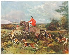 Foxhunting Savvy; My grandparents have this hung in their basement!