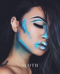 Tricks With Shutter Speed SLOTH / success is not for the SLOTH / success is not for the lazy.Photography Tricks With Shutter Speed SLOTH / success is not for the SLOTH / success is not for the lazy. Fx Makeup, Makeup Inspo, Makeup Inspiration, Beauty Makeup, Makeup Ideas, Geisha Makeup, Prom Makeup, Hair Makeup, Beauty Nails