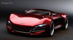 Swedish designer renders Audi R10 supercar picture - doc333890