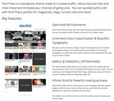 ViralPress WordPress Theme is an Upworthy clone will definitely keep users on site longer, increase your pageviews and earners! good wp themes for funny sites Best Wordpress Themes, Wordpress Plugins, Theme List, Funny Sites