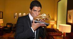 Recibe Luis Suárez recibe Bota de Oro