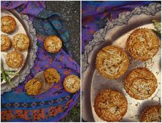 Gluten Free Store - RUSTIC CARROT AND COCONUT CAKES WITH CHIA SEEDS