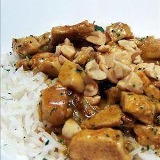 Spicy Thai Peanut Chicken Curry