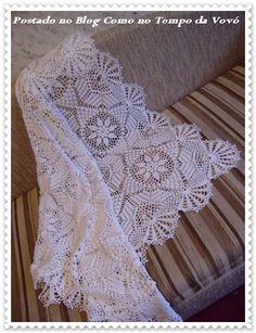 ergahandmade: Crochet Baby Blanket + Diagrams