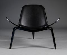 A super sleek Hans Wegner CH07 Shell Chair. Create your perfect Shell Chair at #hauteliving