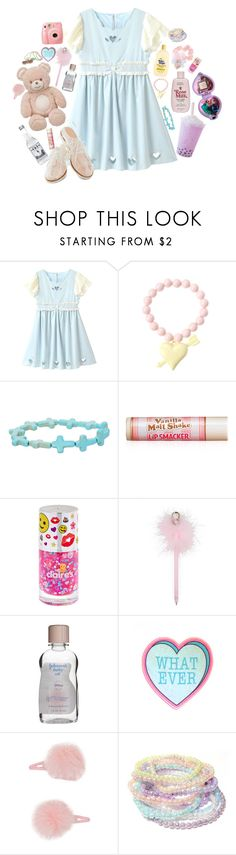 """""""Baby soft"""" by bunni-bones ❤ liked on Polyvore featuring Hot Topic, Forever 21, Fujifilm and Bass"""