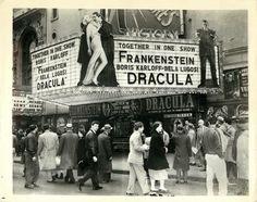 """Estreno de """"Frankenstein"""" y """"Dracula""""."""
