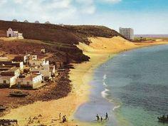 """""""Aquellos maravillosos años"""" Playa de La Cebada. Morro Jable Fotos de Historias de Morro Jable ( un paso en el tiempo) y Manfred Kosch."""