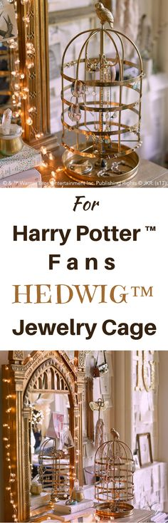 This is awesome Harry Potter HEDWIG™ Jewelry Cage! I love it! Great gift idea for Harry Potter fans! NNT #afflink #Harrypotter #harrypotterfan #hedwig #harrypotterforever #bestseller #giftideas #GIFTIDEA #gift #jewelry #christmasgifts #christmas harry potter | harry potter tattoo | harry potter funny | harry potter party | harry potter costume | Harry Potter Film | Harry Potter | Harry Potter Hub | Harry Potter | Harry Potter...Always | ⚡Harry Potter⚡ | hedwig | jewelry | jewelry organizer |