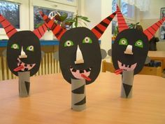 School Clubs, Saint Nicholas, 4 Kids, Goblin, Holiday, Christmas, Diy And Crafts, Kindergarten, Halloween