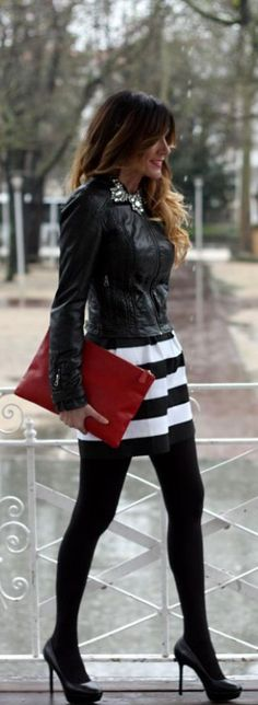 Shop this amazing Striped Skirt at DIVERGENCE CLOTHING. http://divergenceclothing.com/