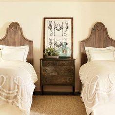 Cositas y Cordel de invitados Dormitorio de inspiración 12