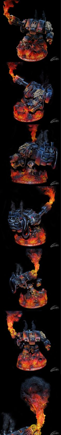 "Dreadnought Warhammer 40k E.W.M.F Painting ""Dreadburn - Asher"""
