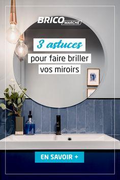 Grâce à des produits simples et économiques, redonnez de l'éclat à votre miroir. Emperor, Bathroom, Home, Cleaning, Bath, Products, Washroom, Full Bath, Ad Home