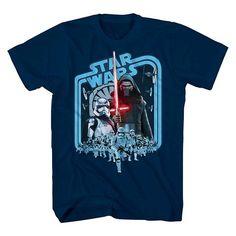 Star Wars Boys' T-Shirt - Navy