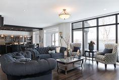 Aménagement de sous sol Armoire, Decoration, Conference Room, Couch, Table, Furniture, Home Decor, Sous Sol, Bath