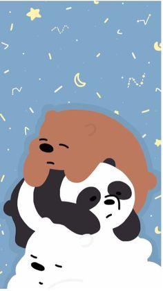 We Bare Bears sleep Wattpad _rabiakarakas_ Wallpaper Sky, Cute Panda Wallpaper, Cartoon Wallpaper Iphone, Kawaii Wallpaper, Cute Wallpaper Backgrounds, Disney Wallpaper, We Bare Bears Wallpapers, Panda Wallpapers, Cute Cartoon Wallpapers